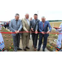 14 июня состоялось открытие молочно-товарной фермы ОАО «МТЗ»
