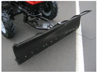 Отвал для уборки снега механический МТЗ 320