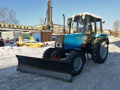 Новый коммунальный трактор Беларус МТЗ 920 МК