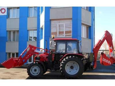 Трактор экскаватор МТЗ ЭБП 9