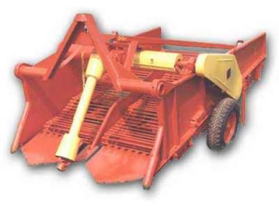 Копалка картофеле навесная двухрядная к трактору КТН–2В Новая