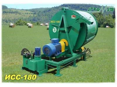 Измельчитель соломы сена рулонов стационарный ИСС-180 Новый