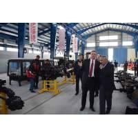 """В Таджикистане открыли новое сборочное производство тракторов """"Беларус"""""""