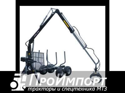 Лесовозный прицеп-манипулятор тракторный Palms 11S  полуприцеп-сортиментовоз
