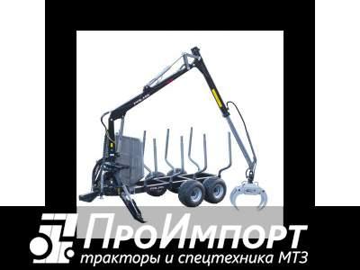 Лесовозный прицеп-манипулятор тракторный Palms 13D полуприцеп-сортиментовоз