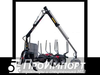 Лесовозный прицеп-манипулятор тракторный Palms 15D полуприцеп-сортиментовоз