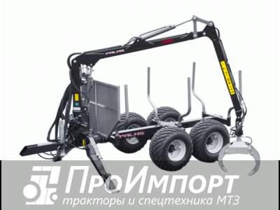 Лесовозный прицеп-манипулятор тракторный Palms 6S полуприцеп-сортиментовоз