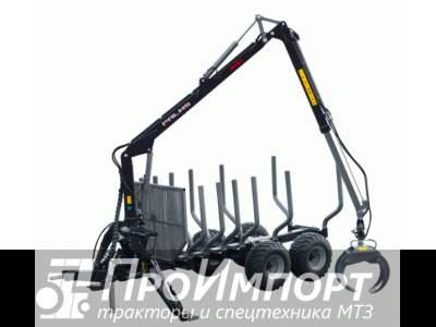 Лесовозный прицеп-манипулятор тракторный Palms 8S полуприцеп-сортиментовоз