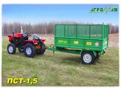 Тракторный прицеп ПСТ-1,5 Полуприцеп тракторный