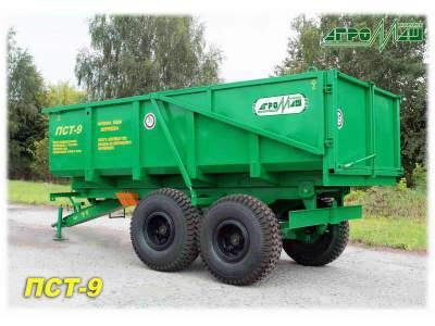 Тракторный прицеп ПСТ-9 Полуприцеп тракторный
