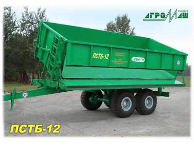 Тракторный прицеп ПСТБ-12 Полуприцеп тракторный
