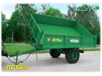 Тракторный прицеп ПСТБ-6 Полуприцеп тракторный