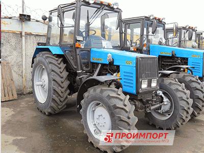 """Трактор Беларус МТЗ 1021 новый от официального дилера """"ПроИмпорт"""""""