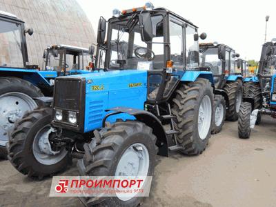 Трактора МТЗ «Беларус» 920.2 по ценам изготовителя