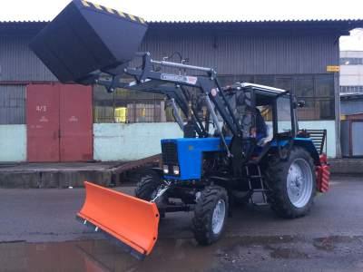 Трактор коммунальный МТЗ 82 Универсал