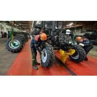 Минский тракторный завод принимал участие в закладке первого камня крупнейшего АПК страны