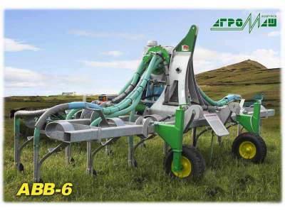 Внутрипочвенное внесение жидких органических удобрений АВВ-6 Адаптер к мжу-20