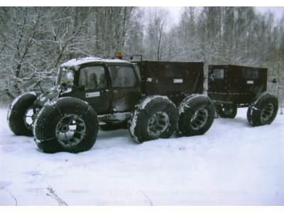 Снегоболотоход УЭСМ 204 «РОСА»