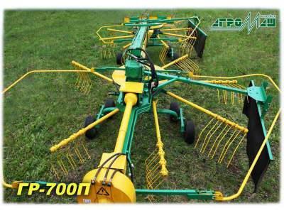 Грабли ворошилки колесные прицепные роторные ГР-700П Новые