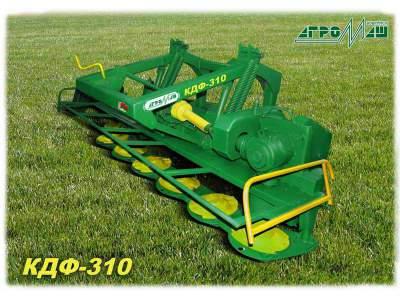 Косилка дисковая навесная фронтальная для трактора КДФ-310 Новая